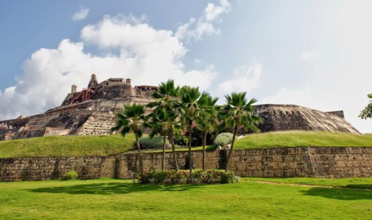 historic-stone-fort-in-cartagena-colombia