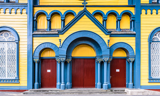 colorful-church-doors