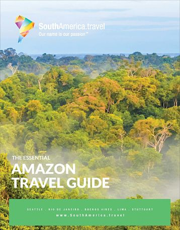 The cover of our Amazon Travel Guide