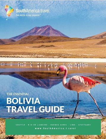 the cover of our Bolivia travel guide
