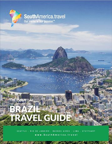The cover of our Brazil Travel Guide