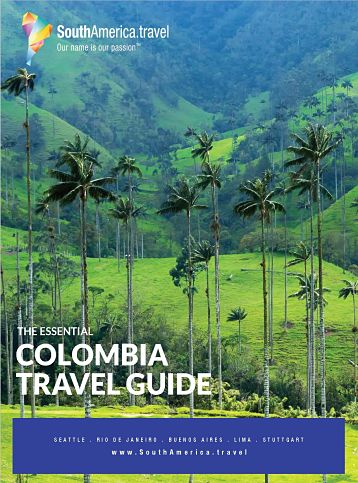 The cover of our Colombia Travel Guide
