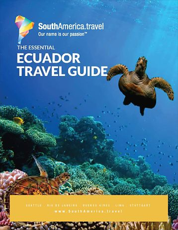 the cover of our Ecuador Travel Guide