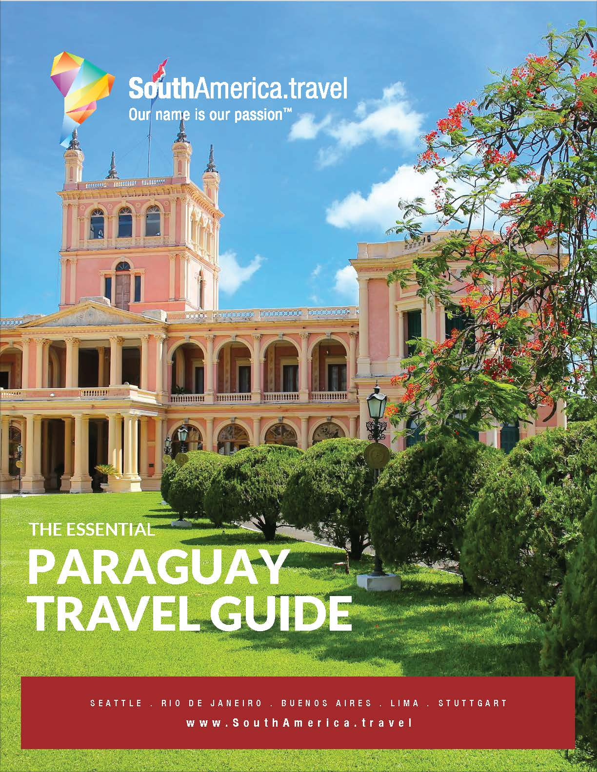The cover of our Paraguay Travel Guide