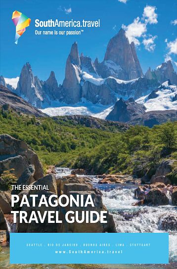 The cover of our Patagonia Travel Guide