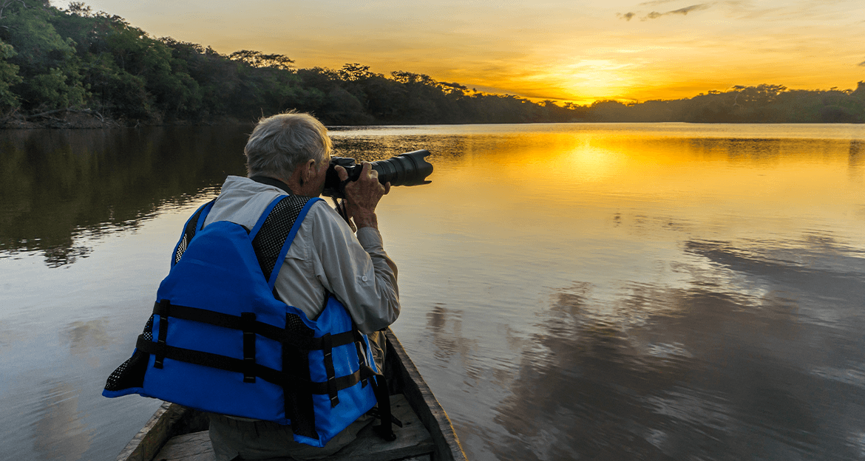 Awariku Lake Sunset