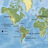 Worldwide Offices SouthAmerica.travel