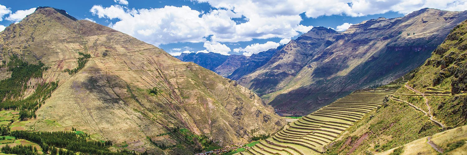 Sacred Valley Peru during the Winter Season