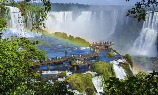 Puerto Iguazu and Iguazu Falls