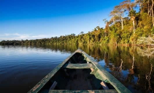 Amazon boat ride to explore