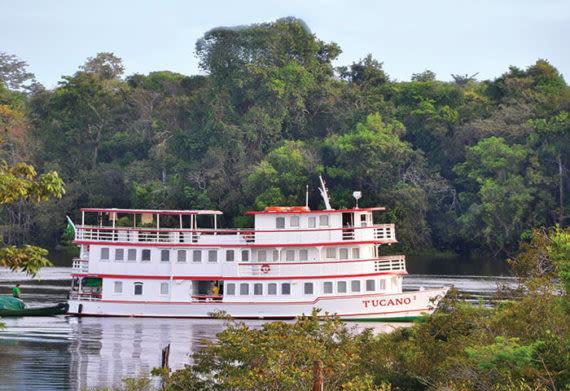 photo of the Brazil Amazon Tucano cruise ship