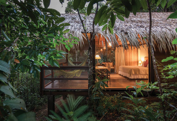 photo of the Anavilhanas Bungalow in the Amazon