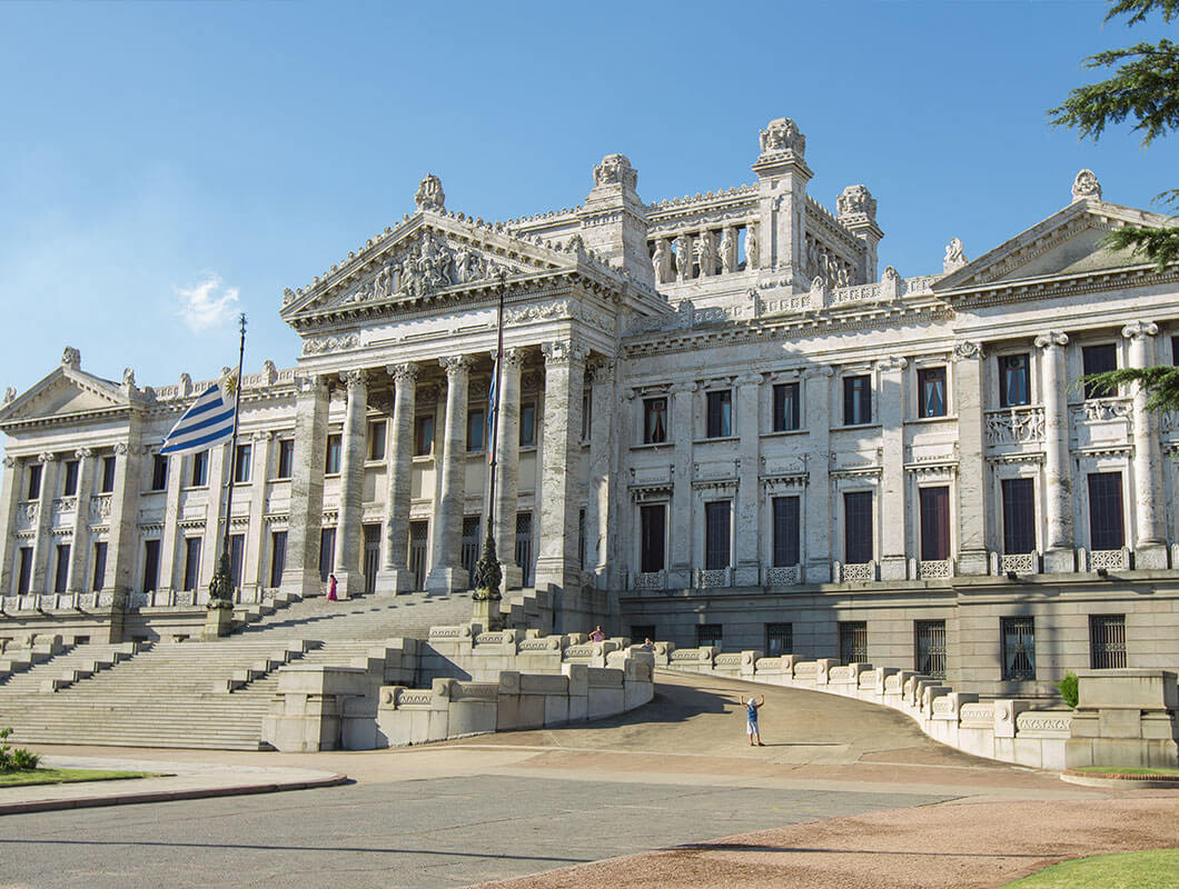 main government palace in Montevideo, Uruguay