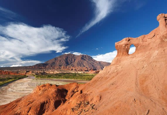 northern argentina's incredible rock formations