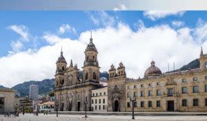 Bogota Colombia Main Square