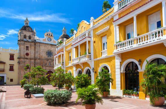 Cartagena old square