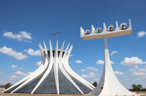 Cathedral of Brasilia view