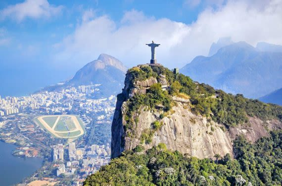 Corcovado Mountain and Christ the Redeemer