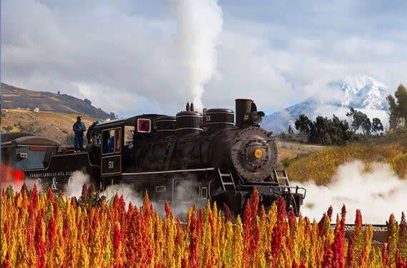 Ecuador vintage trains