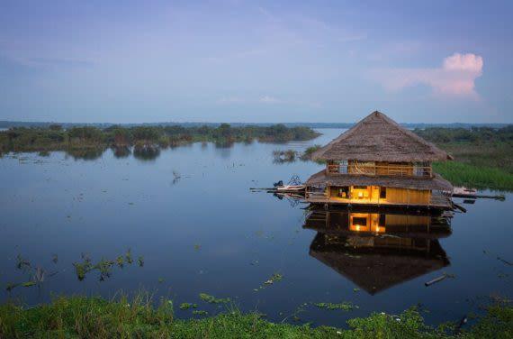 Ecuador Amazon hut