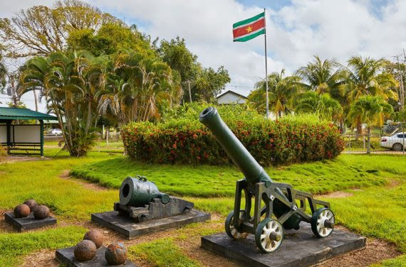 French Fort in Guyana