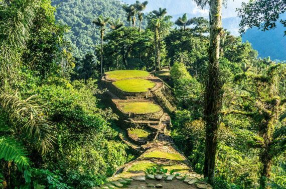 the lost city in colombia