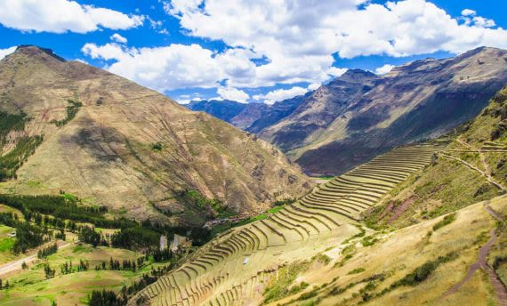 sacred valley and mountains