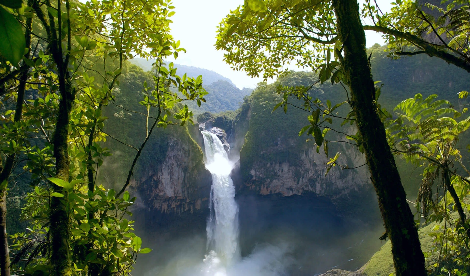 San Rafael Falls Ecuador