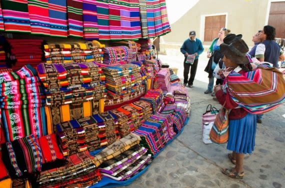 Traditional Market Bolivia