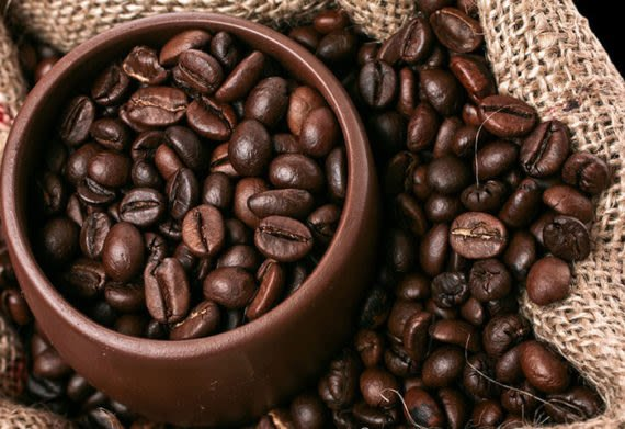 coffee beans produced in colombia