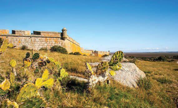 Fortress of Santa Teresa in Uruguay