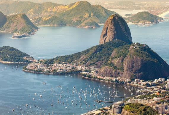 sugarloaf mountain in brazil