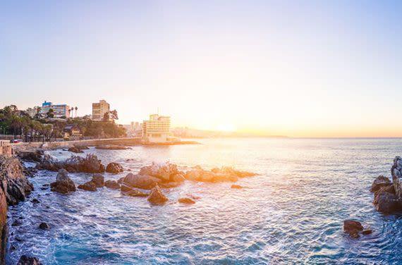 Vina del Mar coast