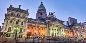 historic building in Buenos Aires Argentina