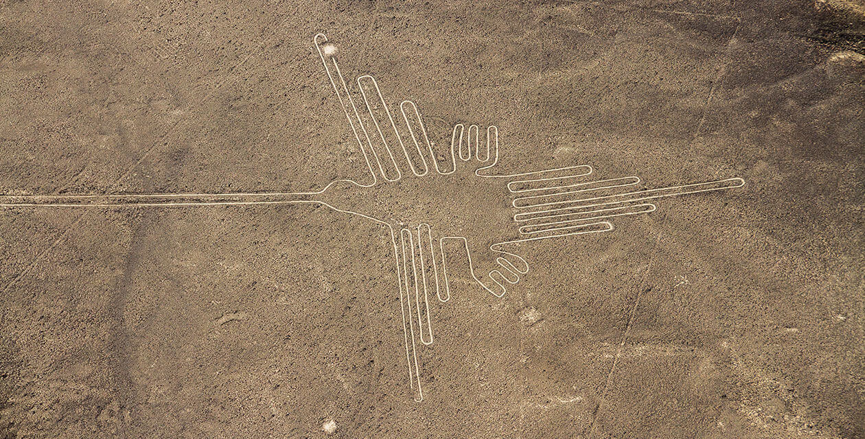 the nazca lines seen from above
