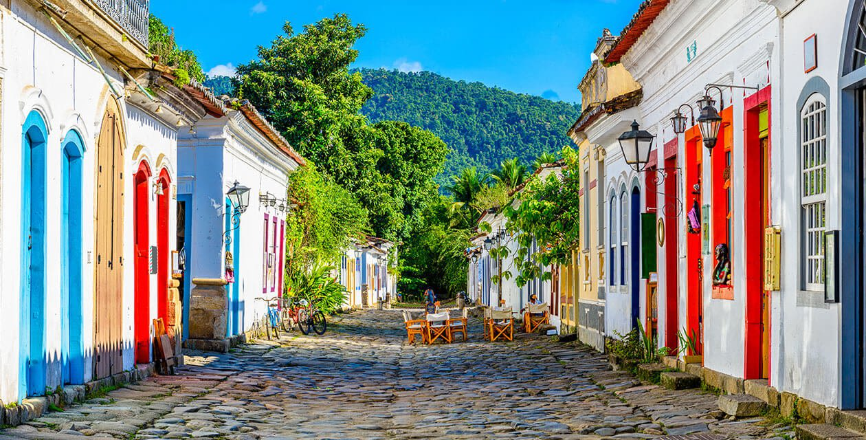 street view of paraty