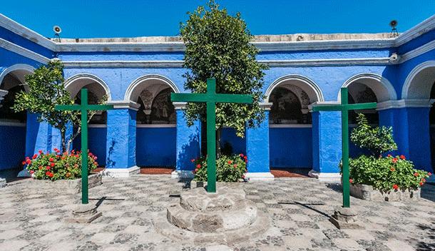 three crosses santa catalina monastery