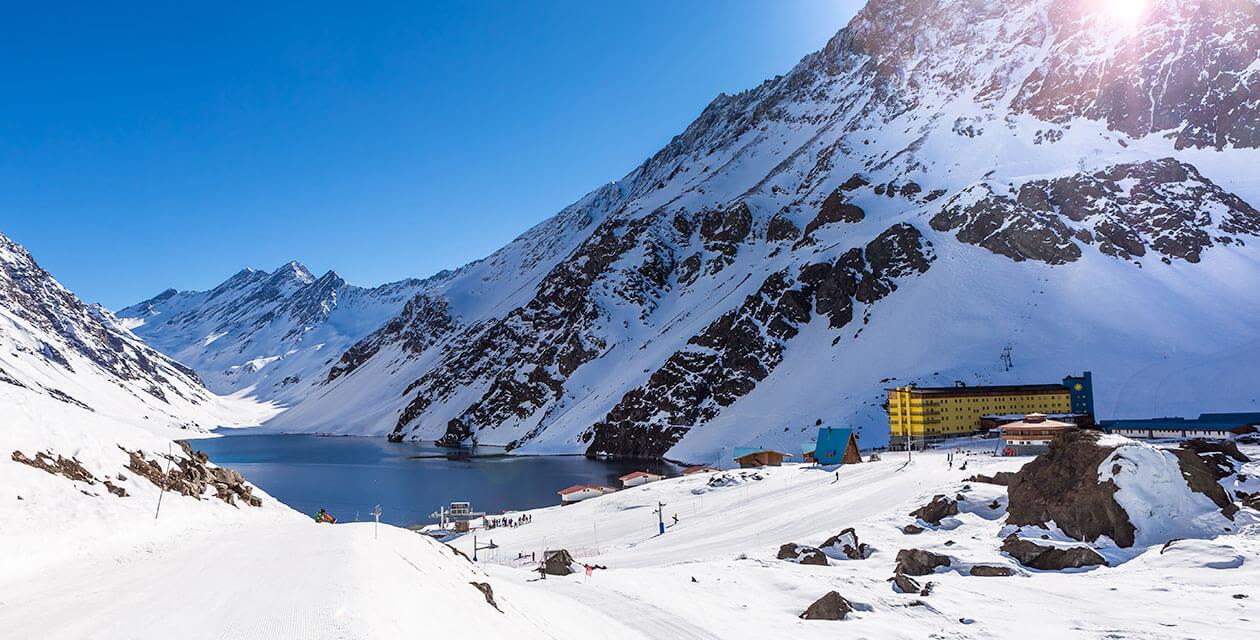 ski resort in portillo chile