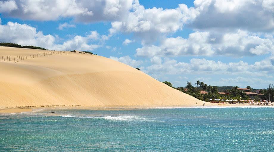 Jericoacoara dunes in Natal city brazil