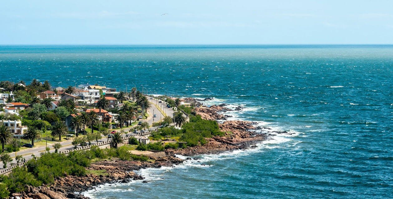 the coast of uruguay