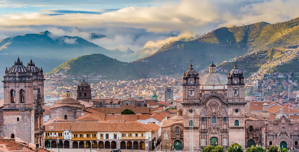 Landscape of Cusco
