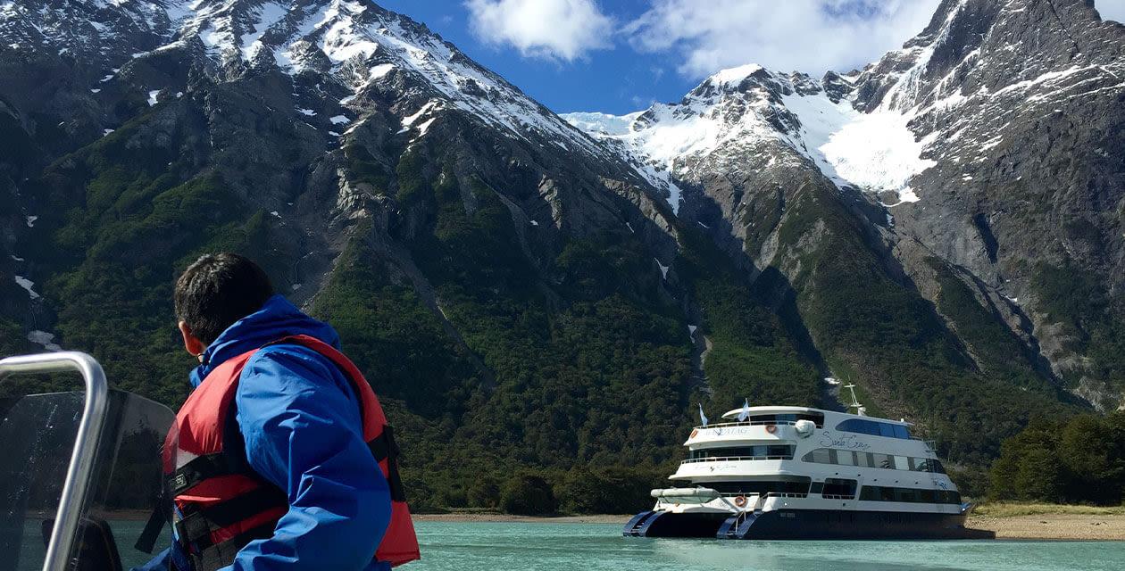 cruise in patagonia