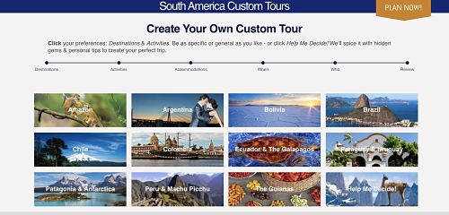 create a custom tour